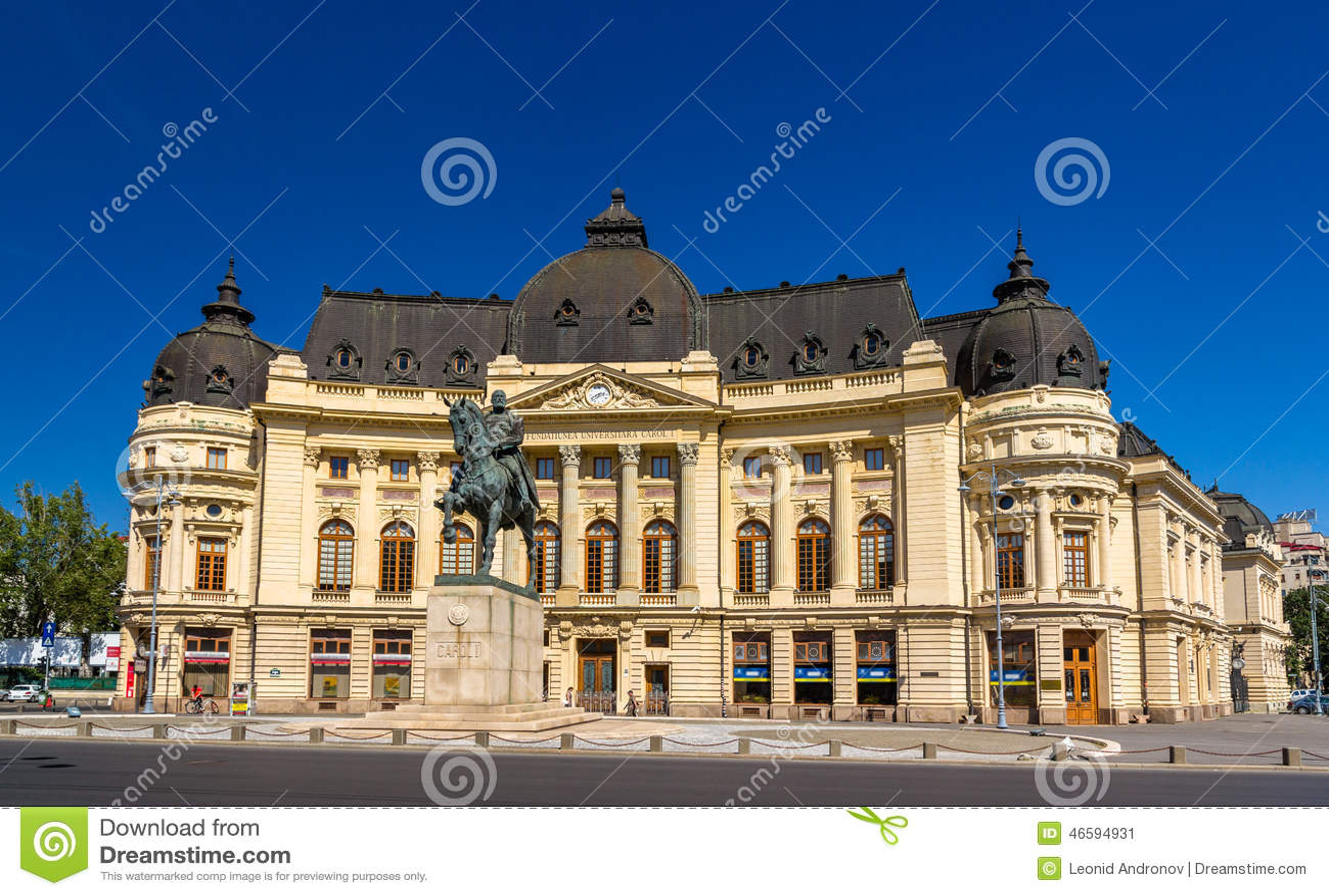 Staty av lovsång I i Bucharest