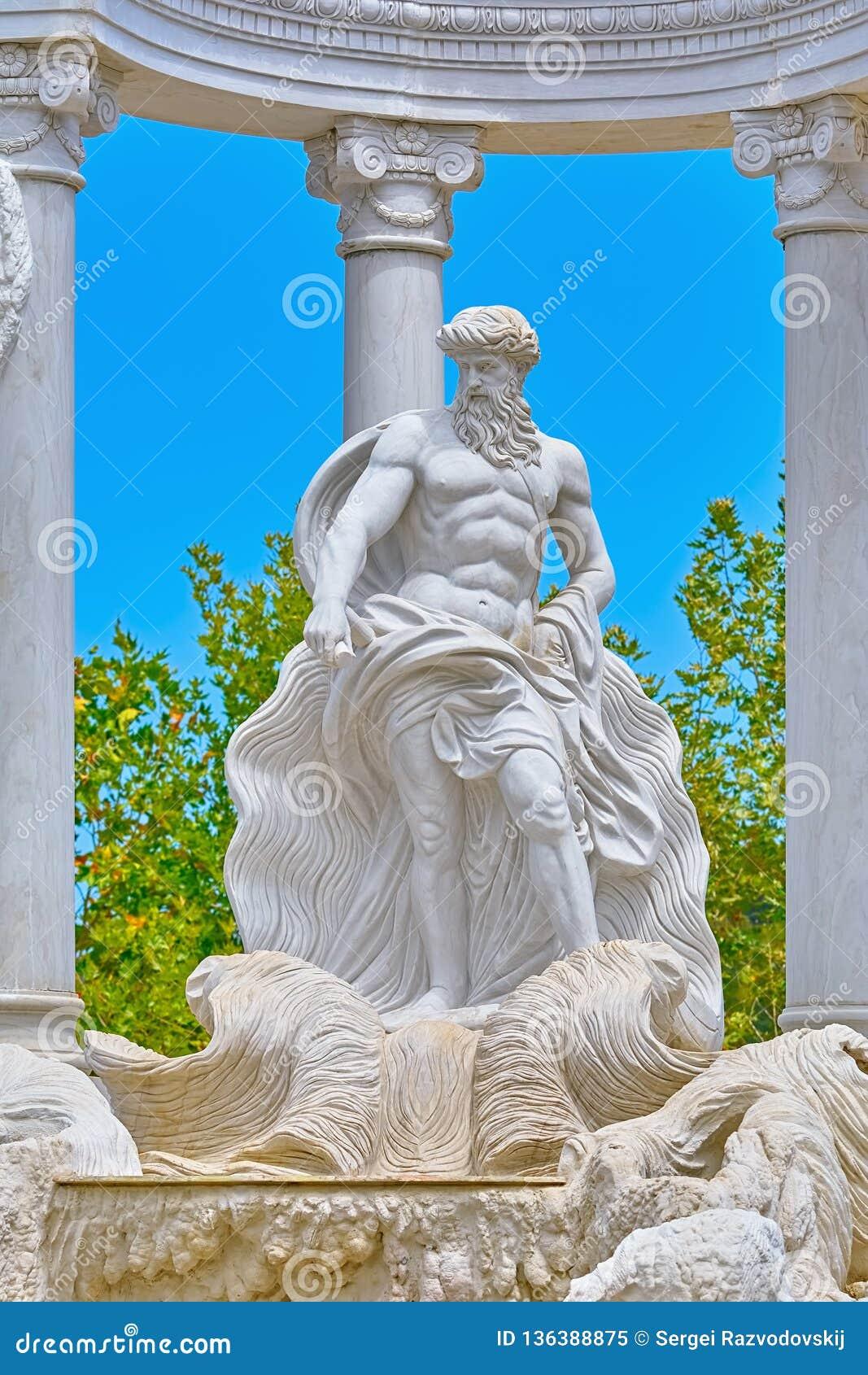 Staty av Poseidon
