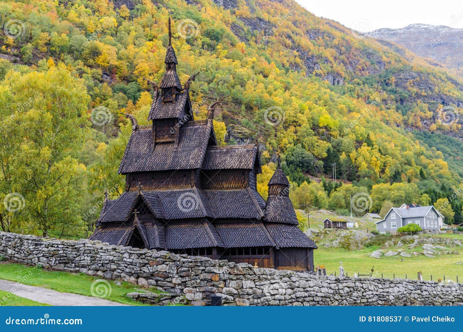 Stave церков borgund