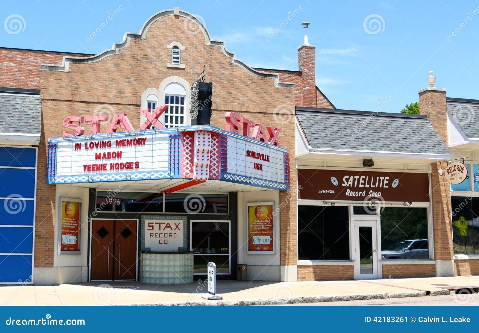 Stax registra el museo de la música, Memphis Tennessee