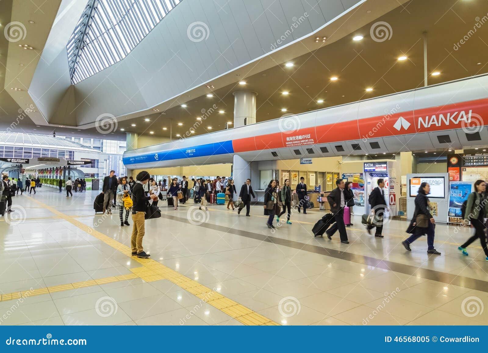 Aeroporto Kansai Osaka : Stazione dell aeroporto di kansai a osaka immagine