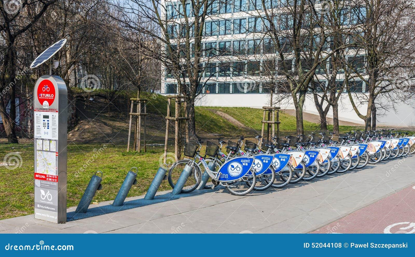 Stazione dell affitto della bici
