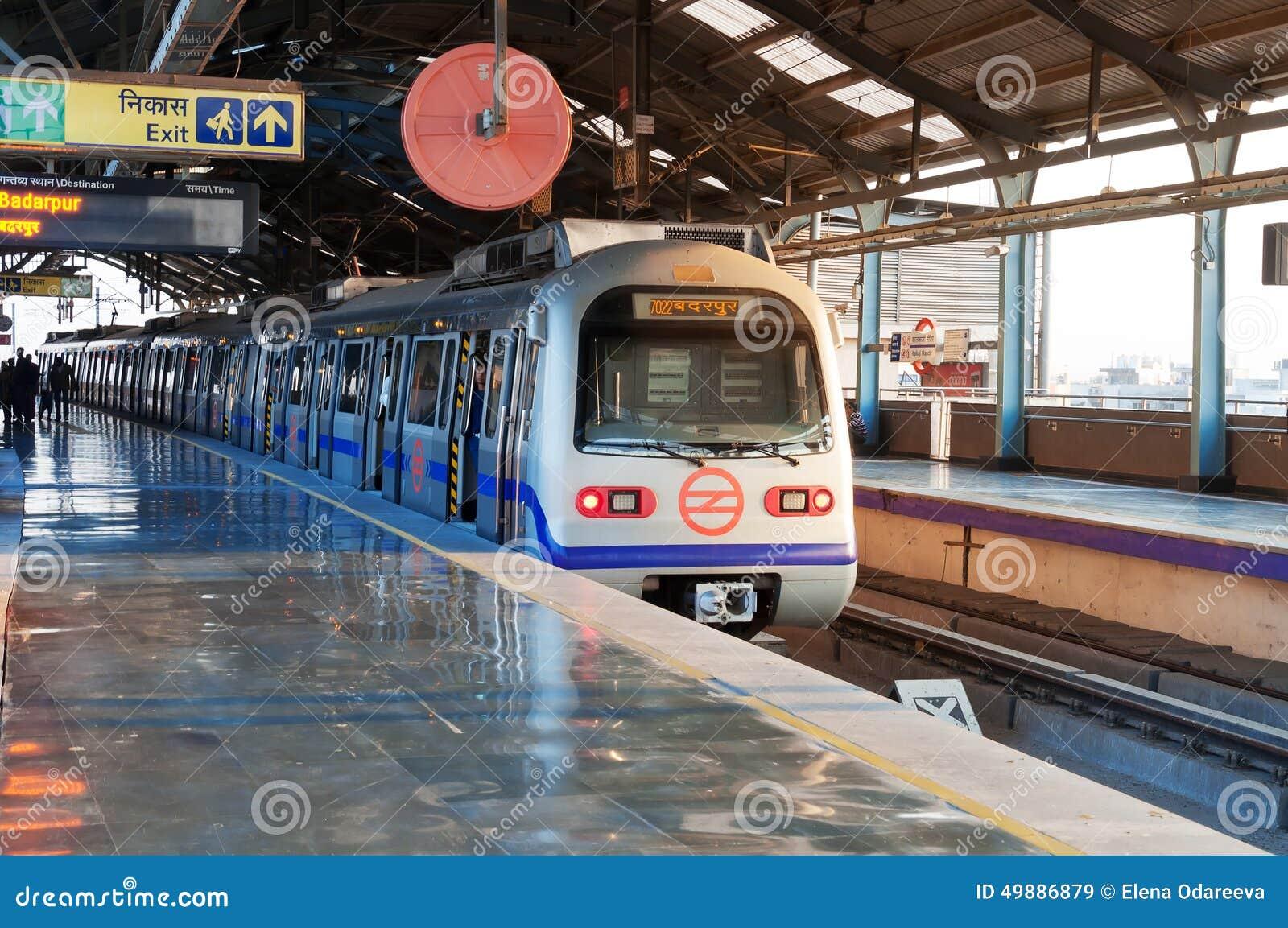 Stazione della metropolitana di Delhi