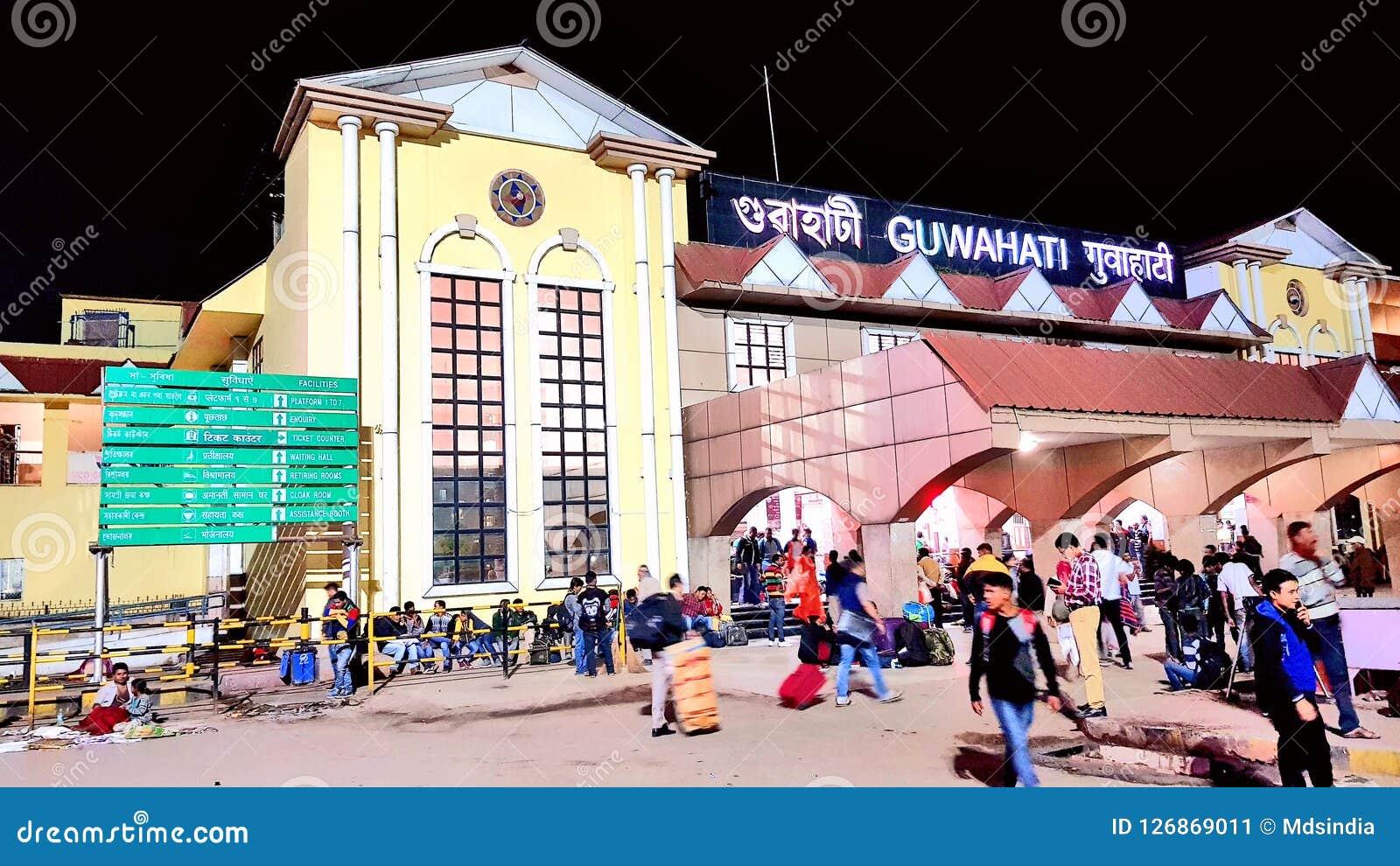 Stazione ferroviaria di Guwahati