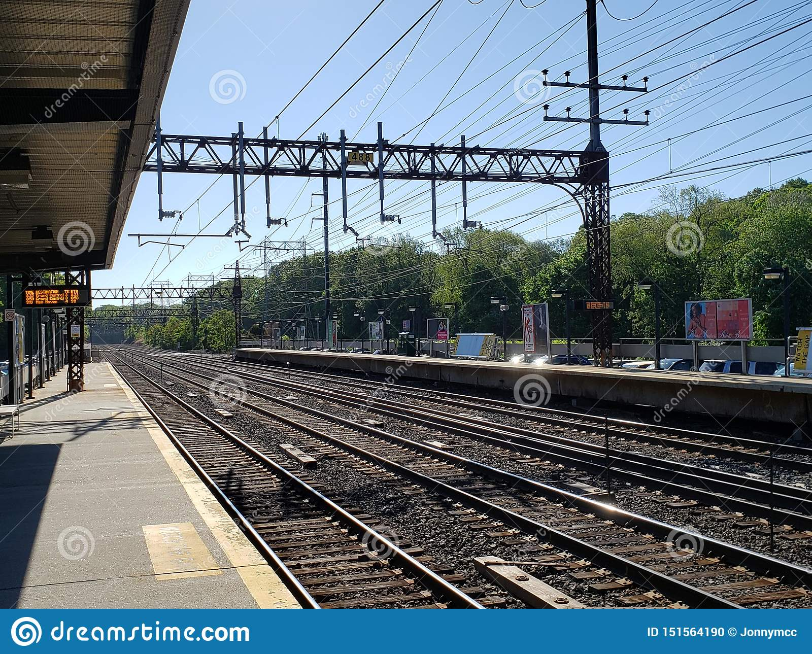Stazione ferroviaria in Rowayton, CT