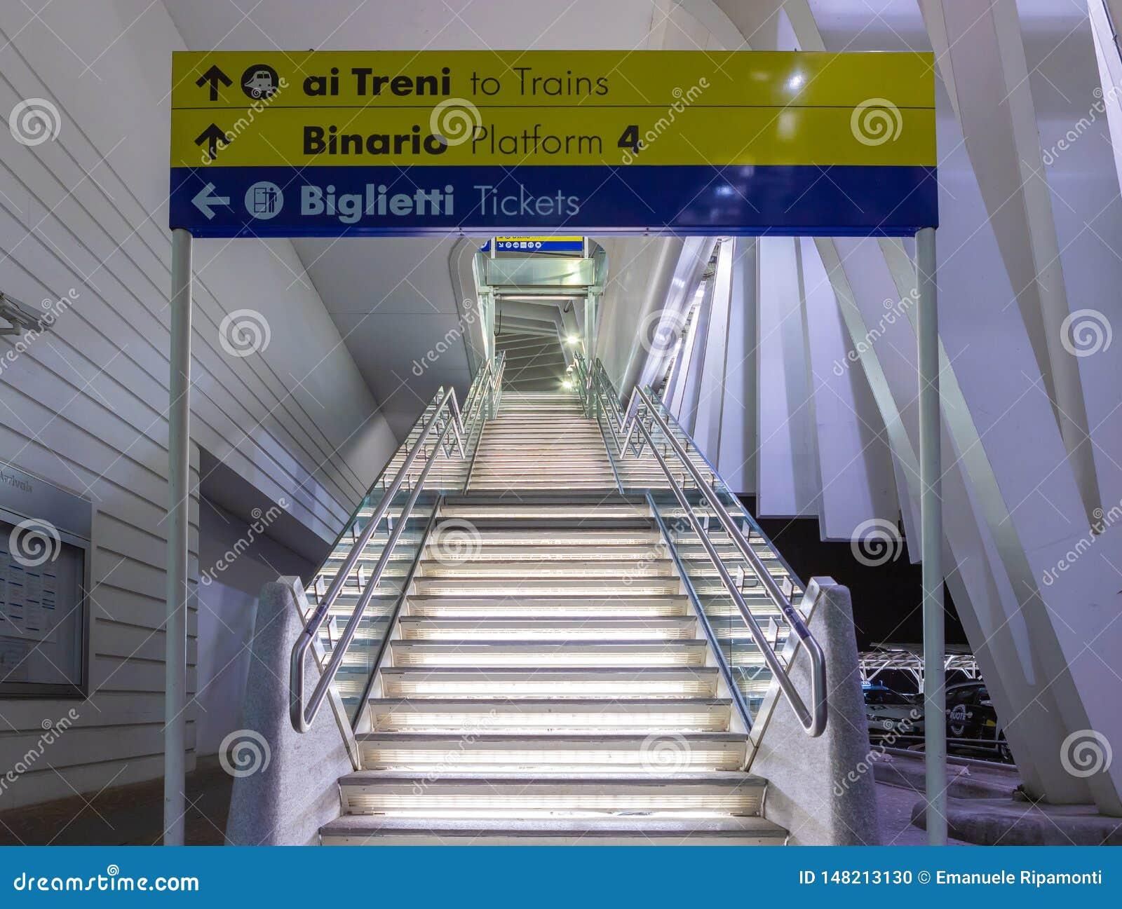 Stazione Reggio nell Emilia del treno ad alta velocit?