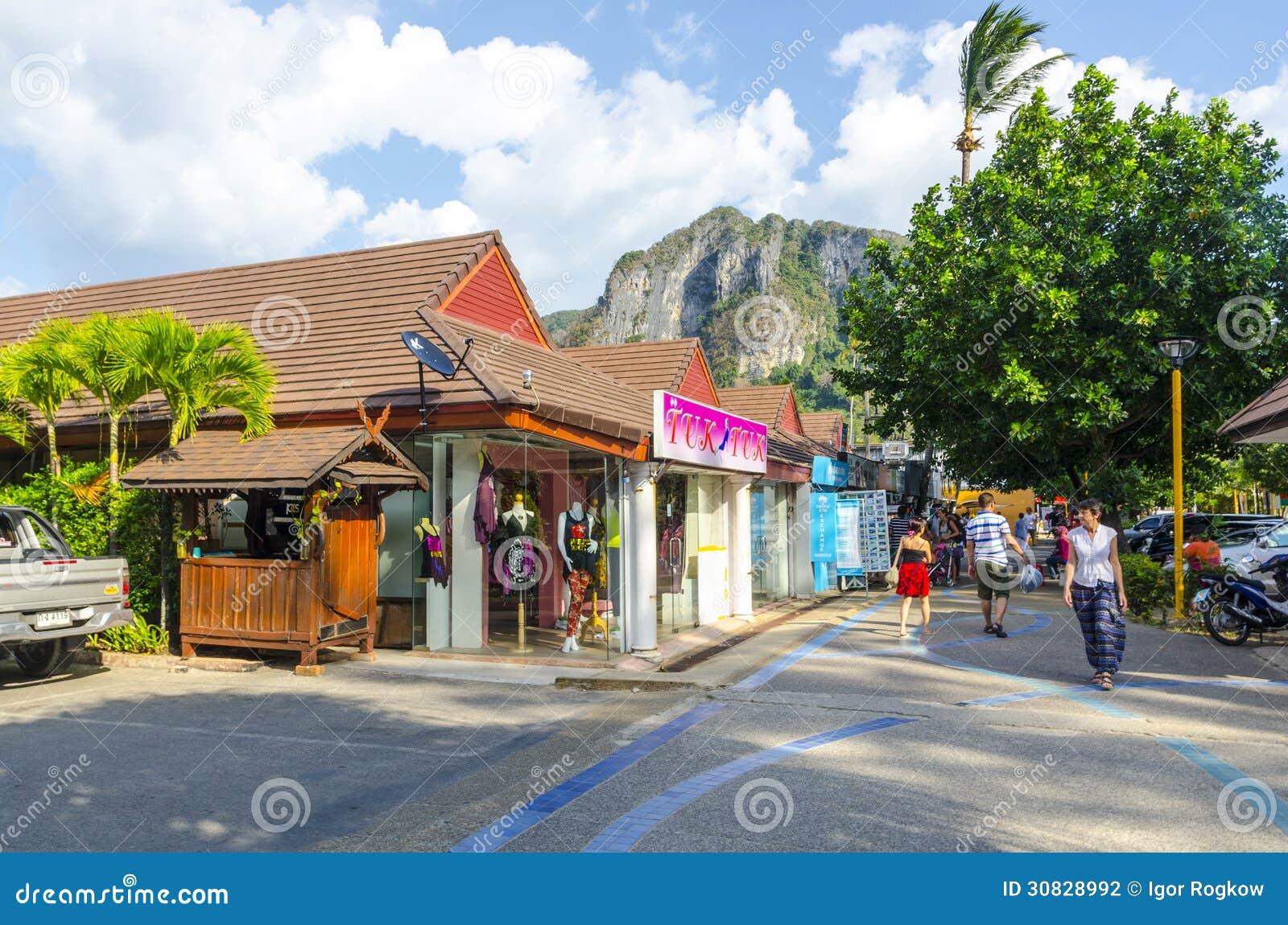 Stazione turistica della via del Ao Nang.