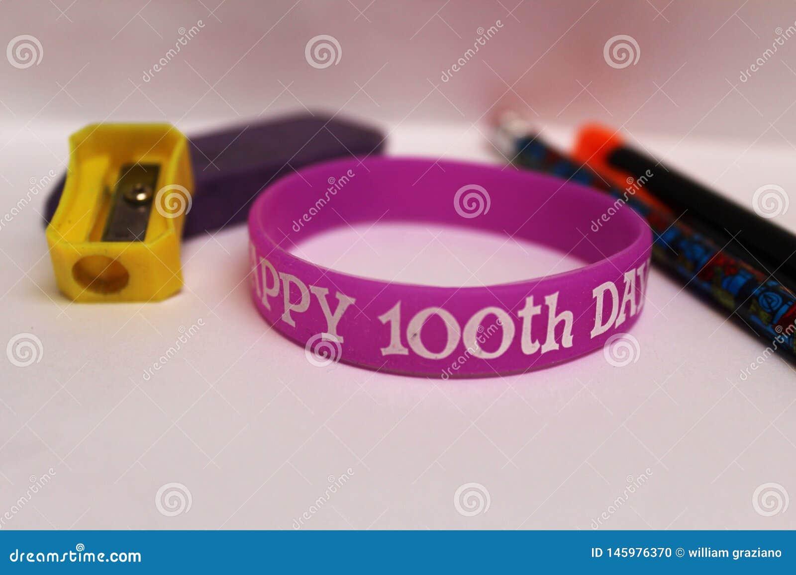 100ste dag van schoolthema