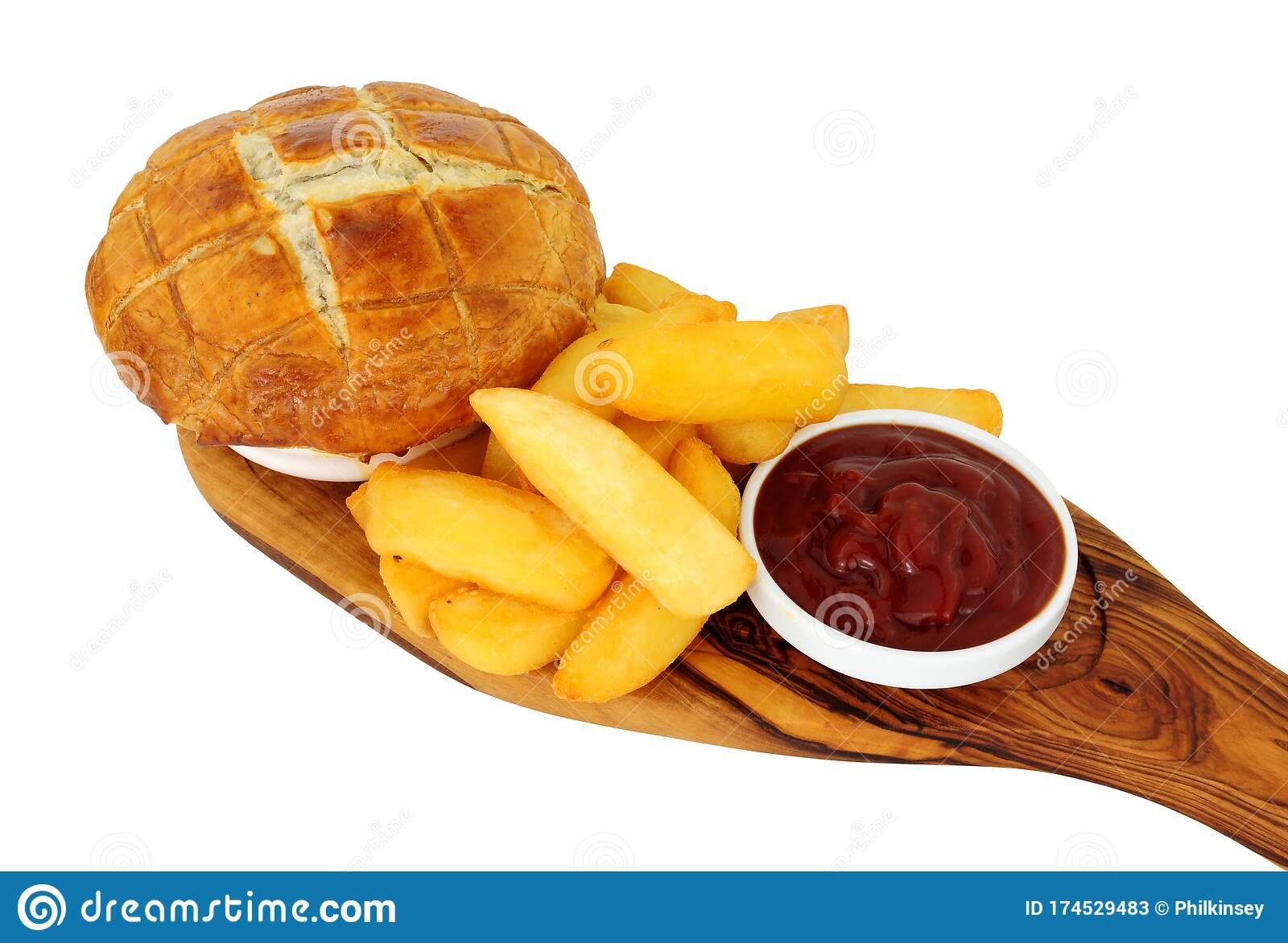Steak And Ale Pie With Puff Pastry Topping And Chunky ...