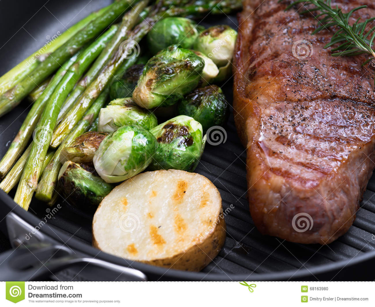 Steak Stock Photo. Image Of Grilled, Medium, Lunch, Pork