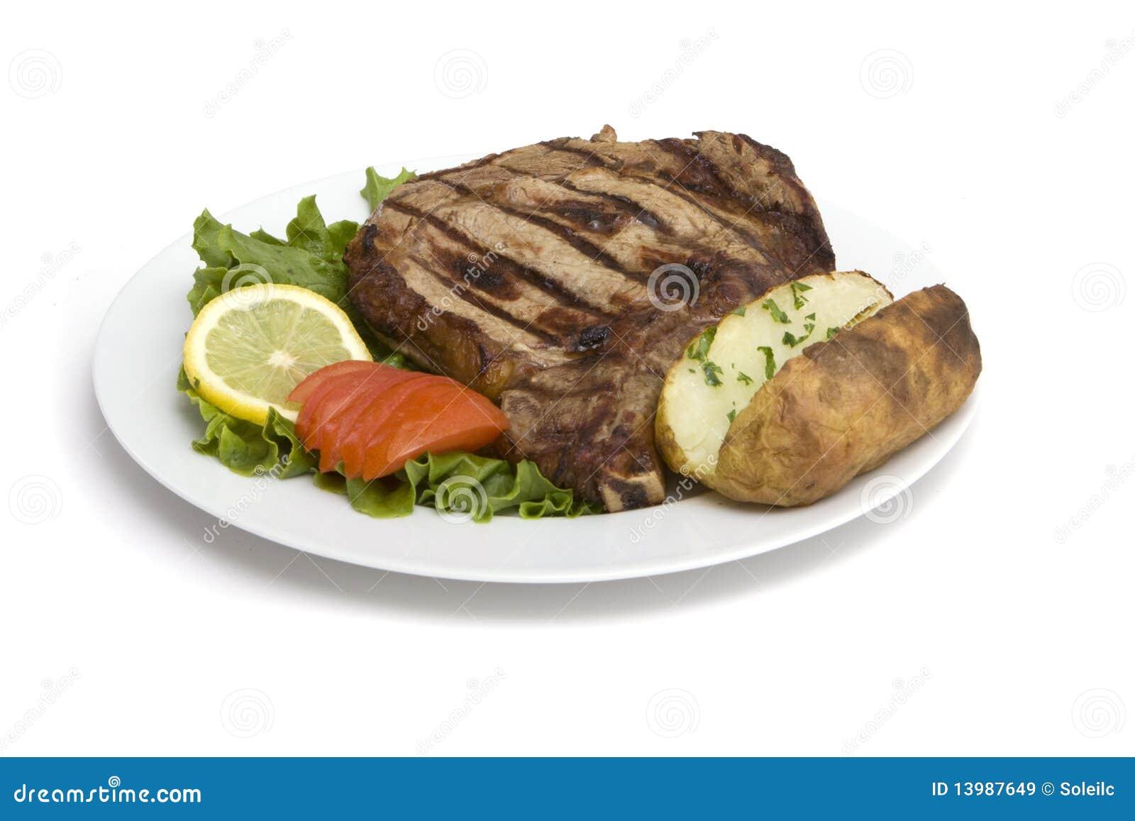 Steak Dinner Royalty Free Stock Images - Image: 13987649