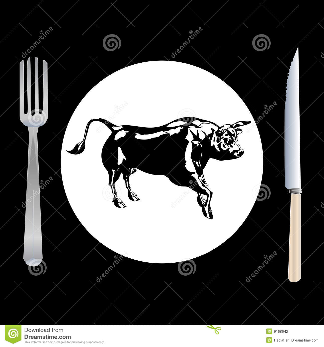Steak menu. Card Design template. — Stock Vector © mitay20 #38609397