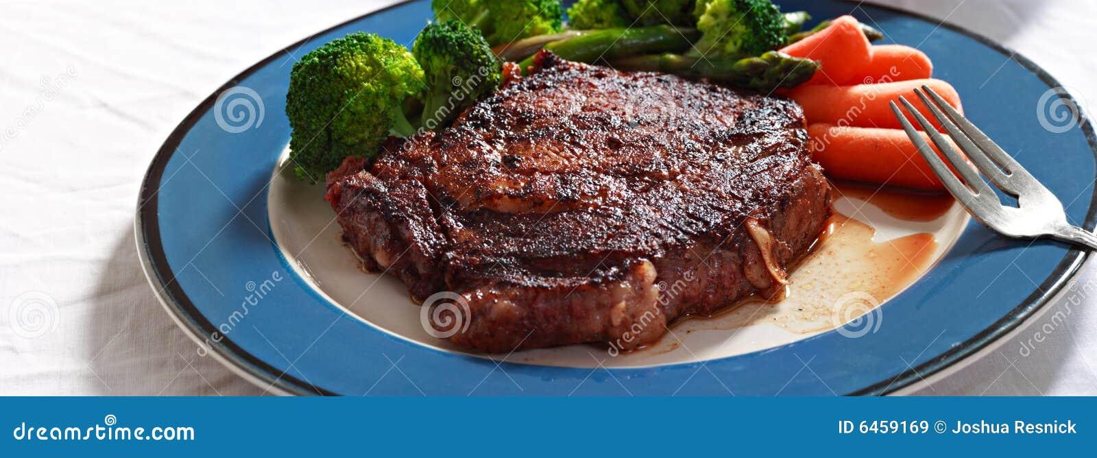 Steak mit Veggies