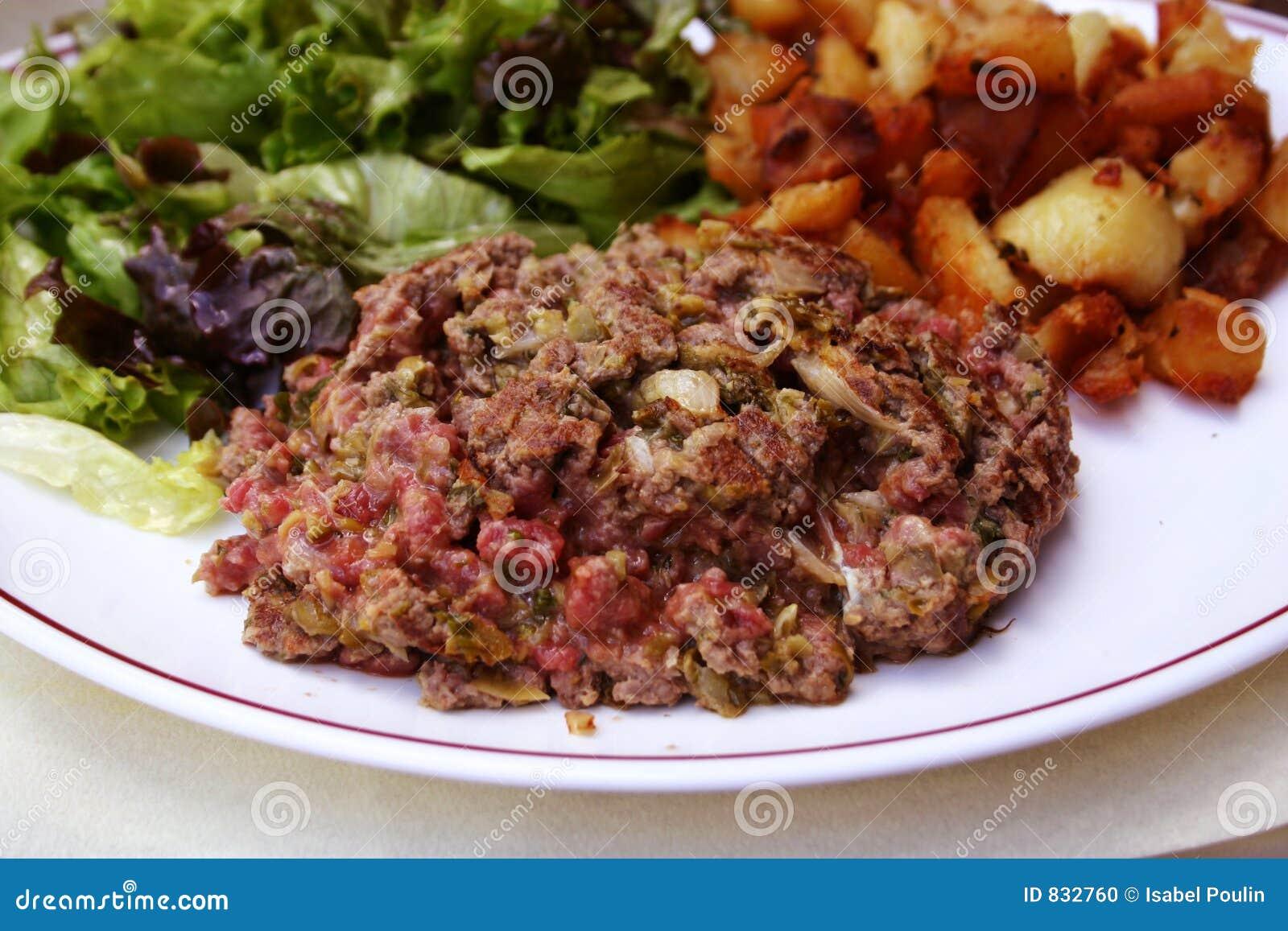 how to eat steak tartare