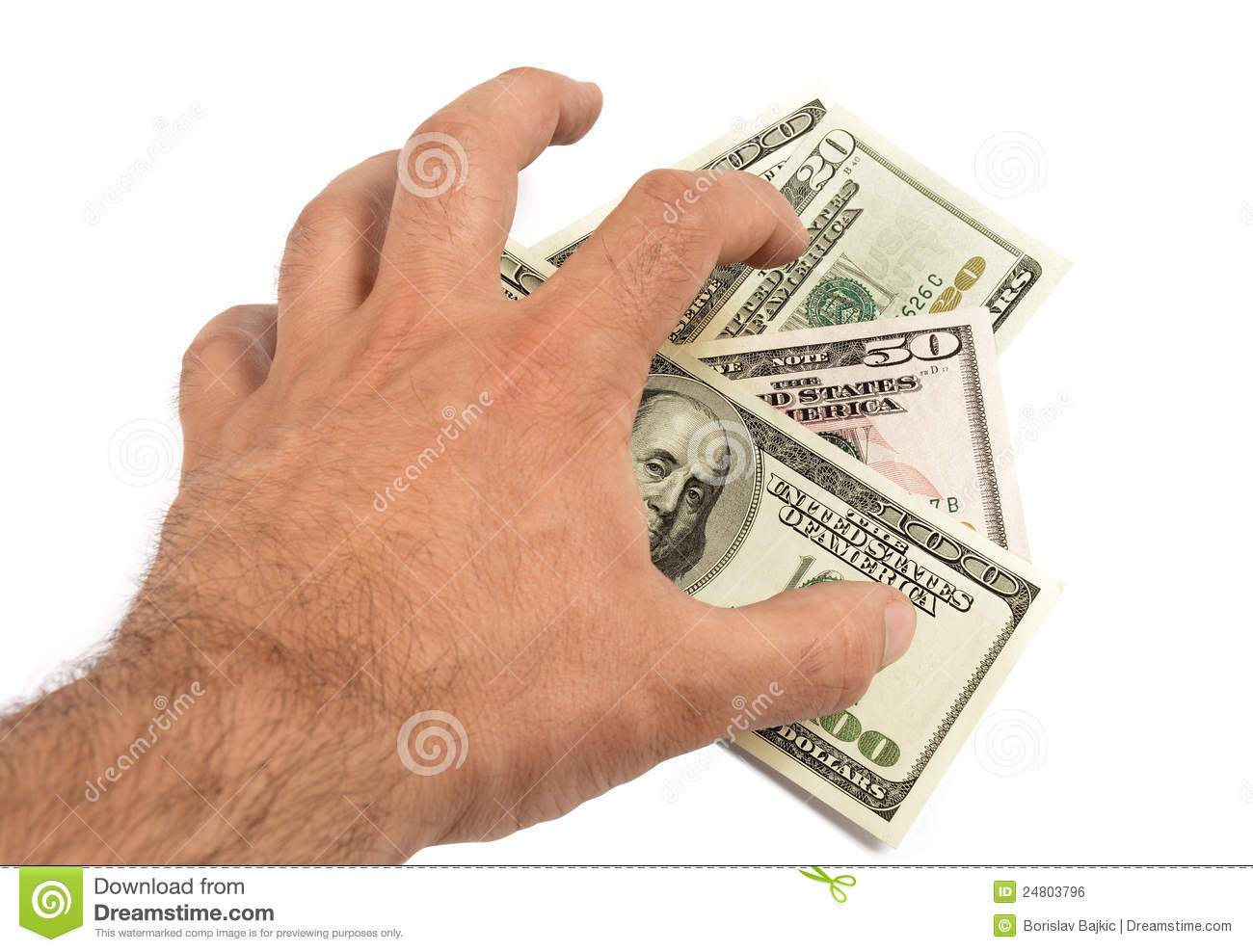 Stealing Money Royalty Free Stock Image - Image: 24803796