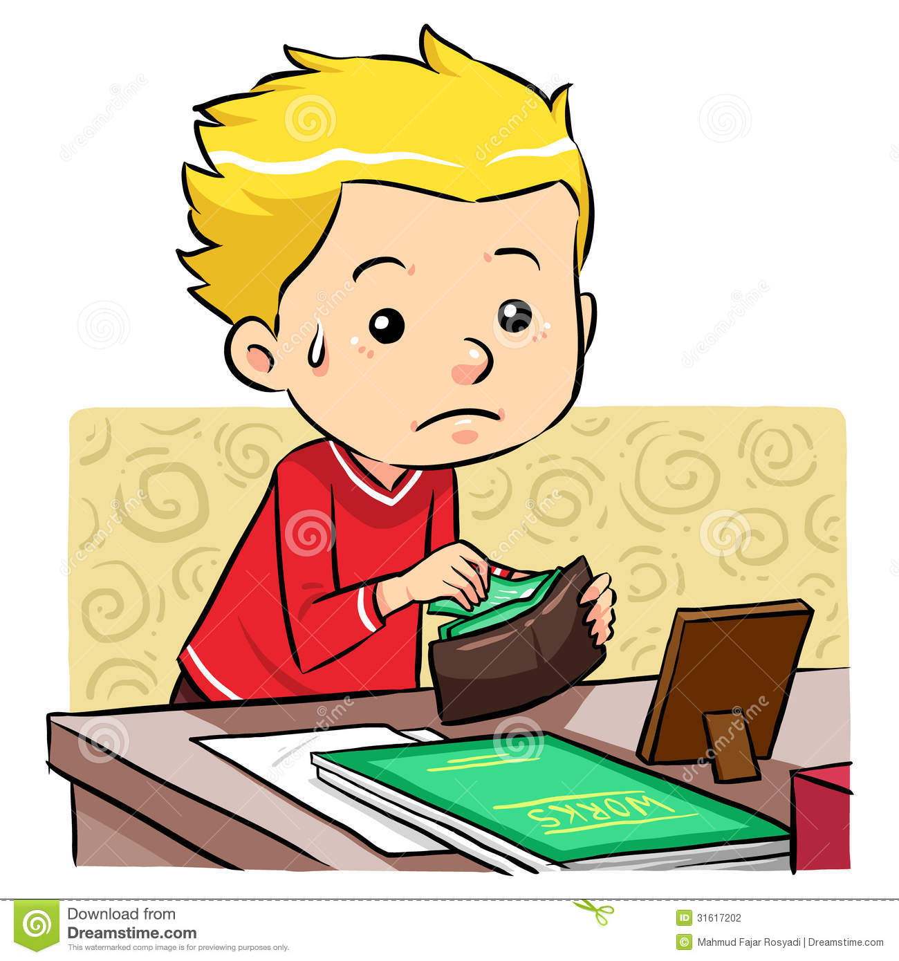Stealing Money Stock Photography - Image: 31617202