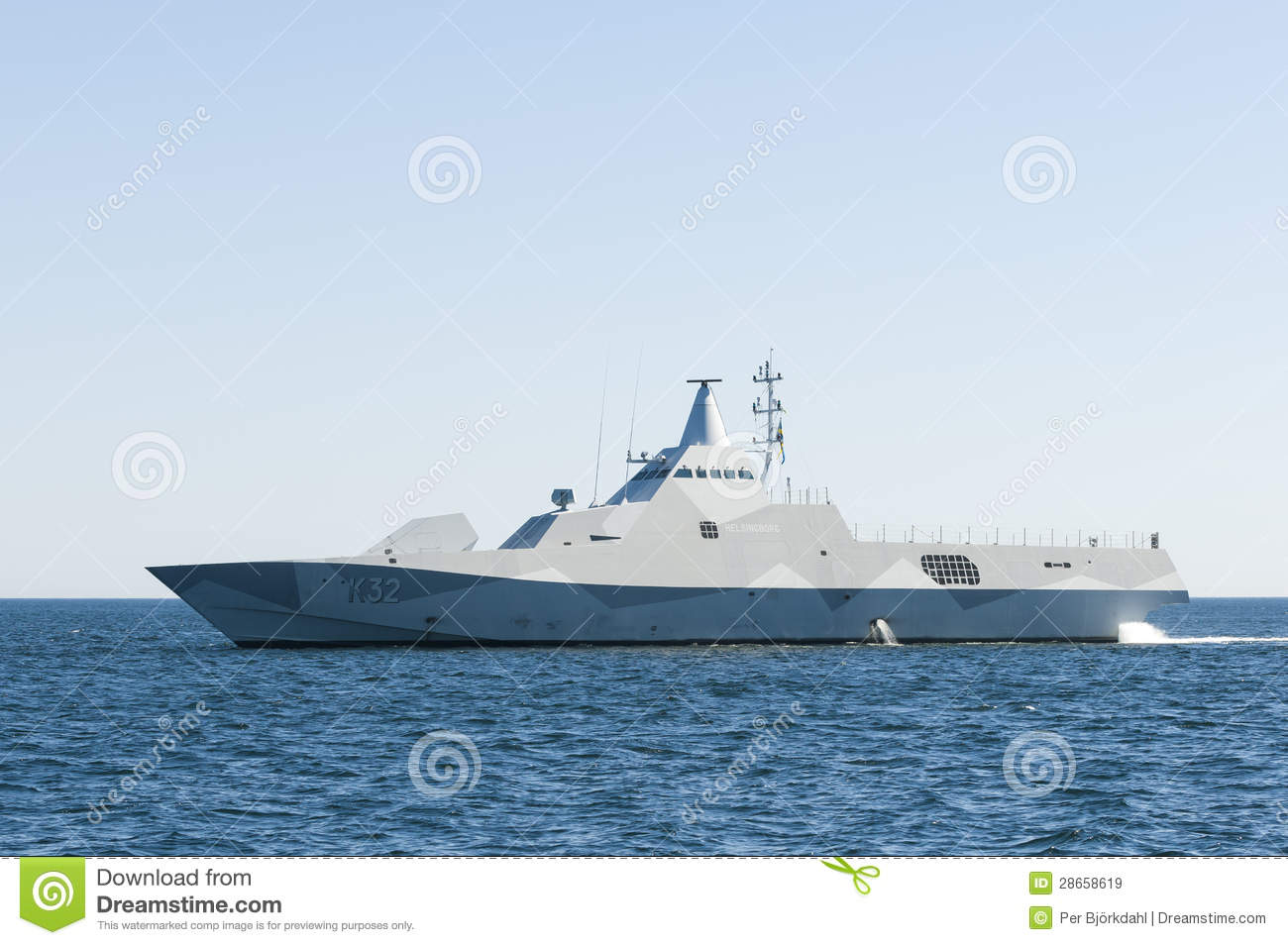 Stealth Corvette Visby Class Editorial Stock Image Image