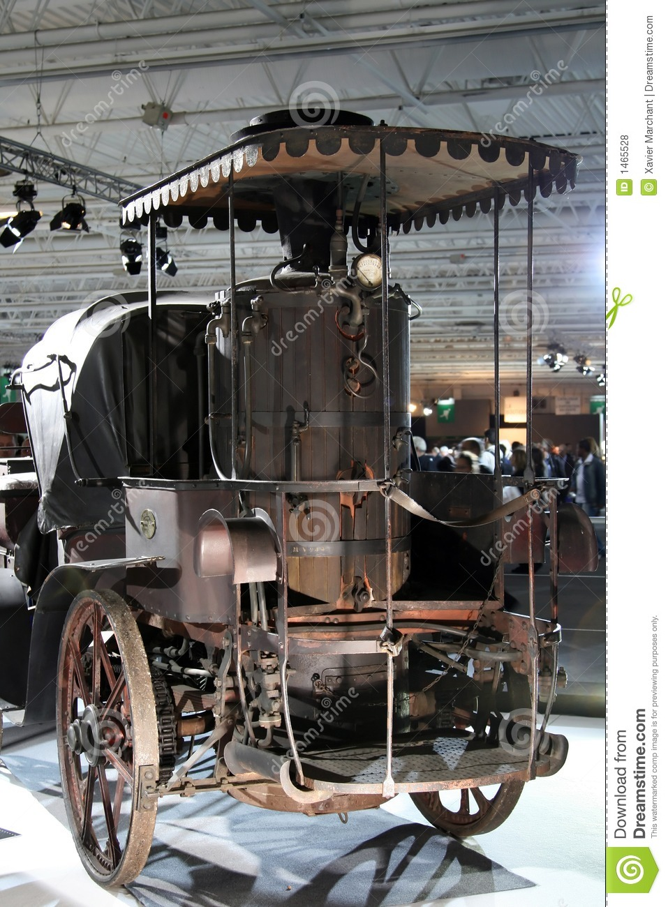 steam engine car royalty free stock photos