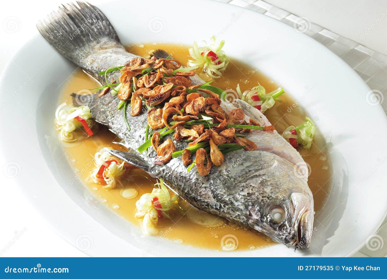 Steam Fish Royalty Free Stock Photo - Image: 27179535
