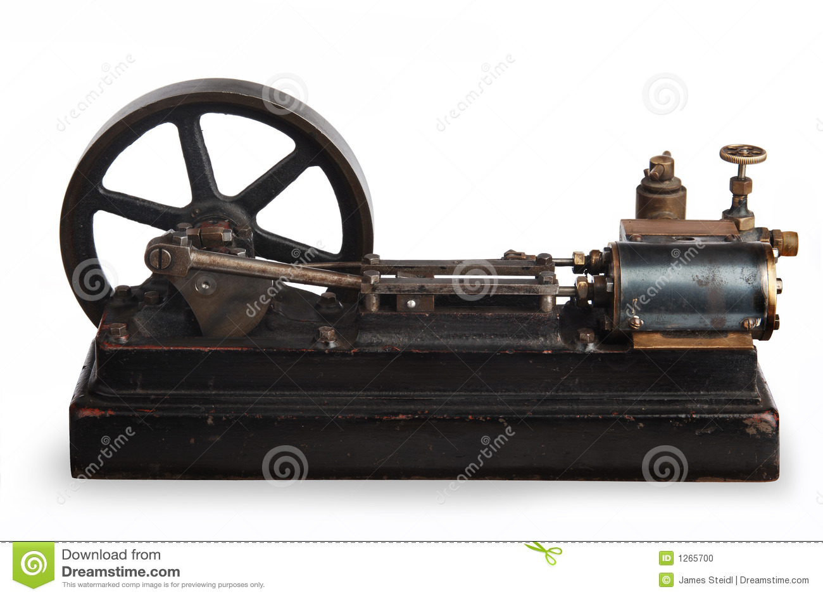 Steam Piston Vector