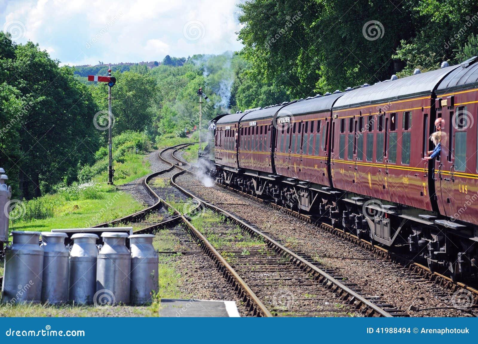Steam train, Hampton Loade.