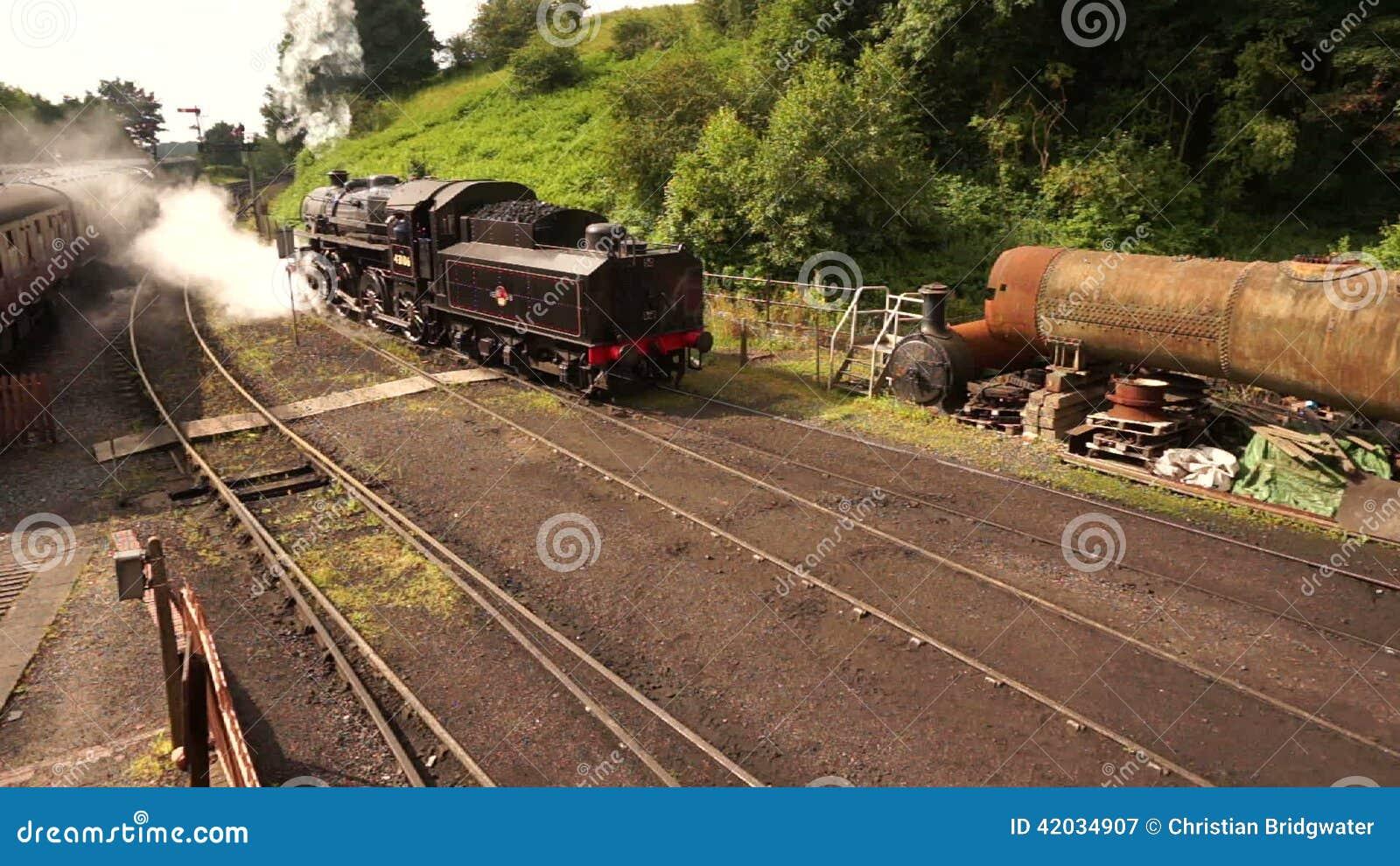Free photo: steam locomotive engine travel, train, steam free.