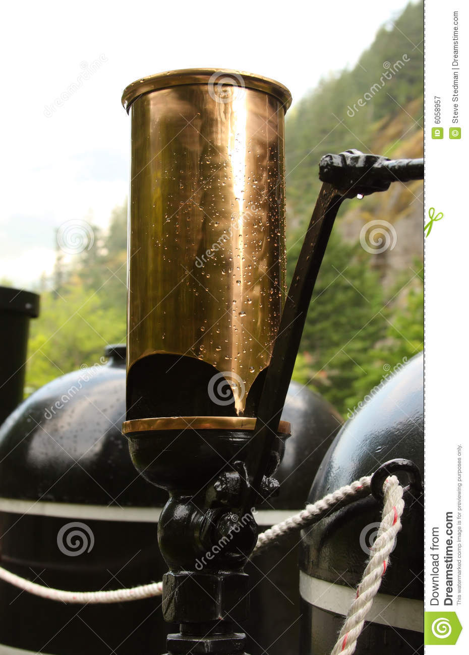 Steam Train Whistle stock image. Image of cloth, engine ...