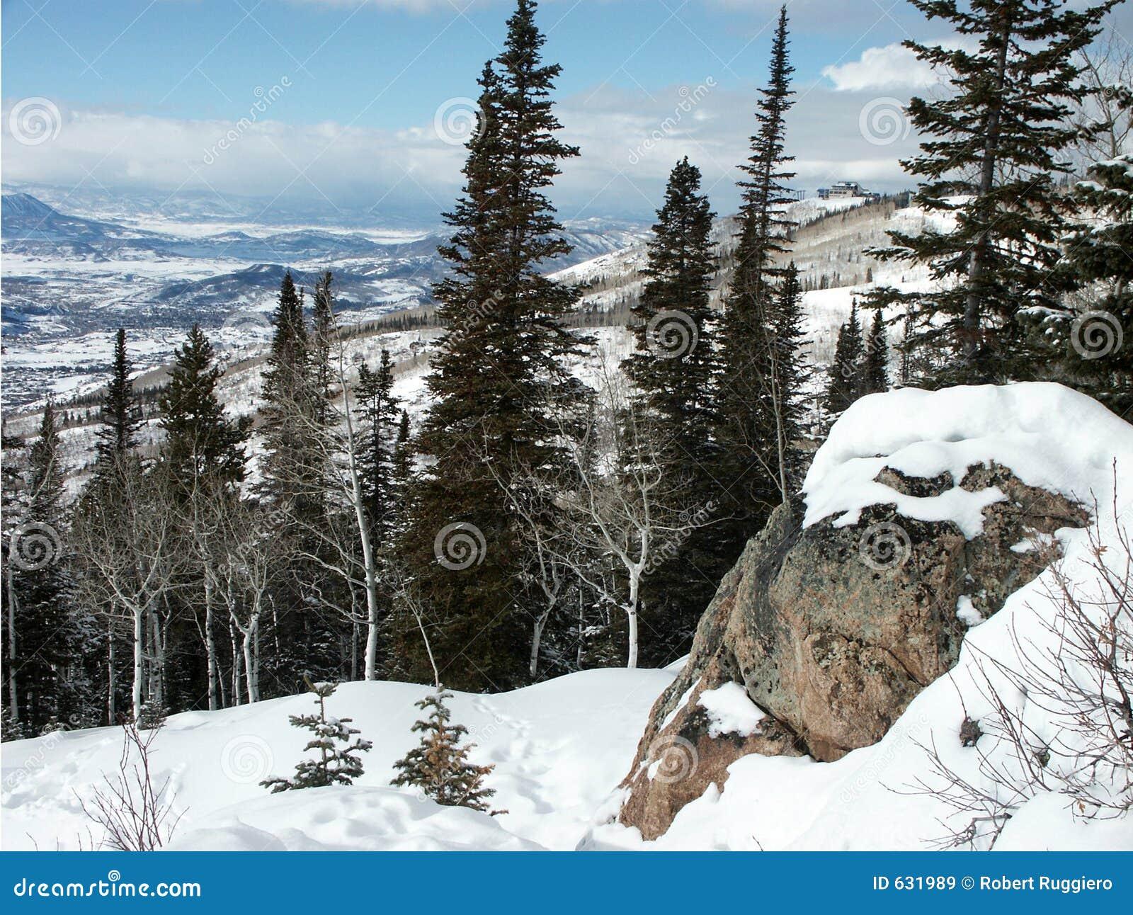 Download Steamboat colorado стоковое изображение. изображение насчитывающей лыжа - 631989
