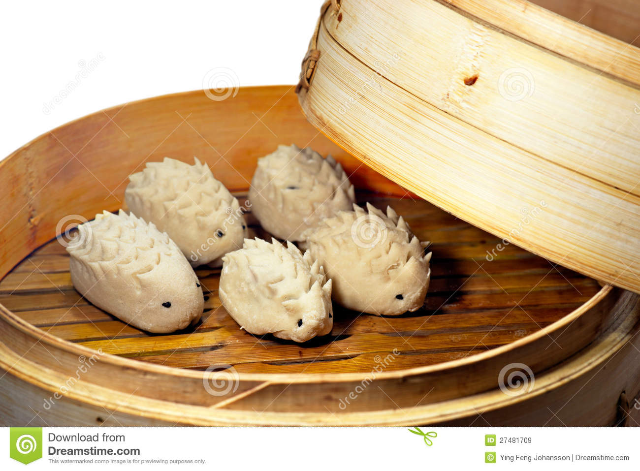 Steamed Dumplings Royalty Free Stock Images - Image: 27481709