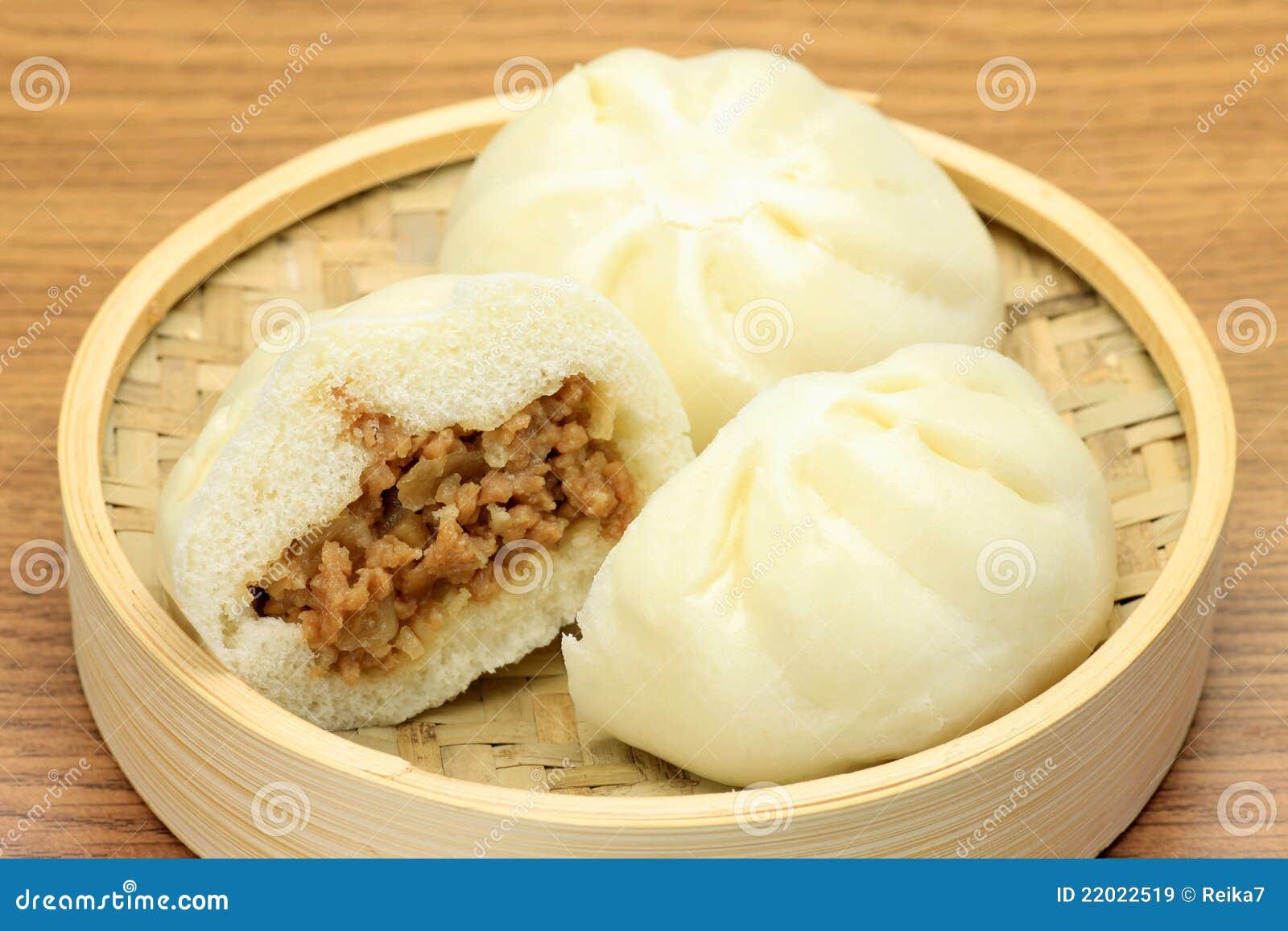 steamed meat bun royalty free stock images image 22022519. Black Bedroom Furniture Sets. Home Design Ideas