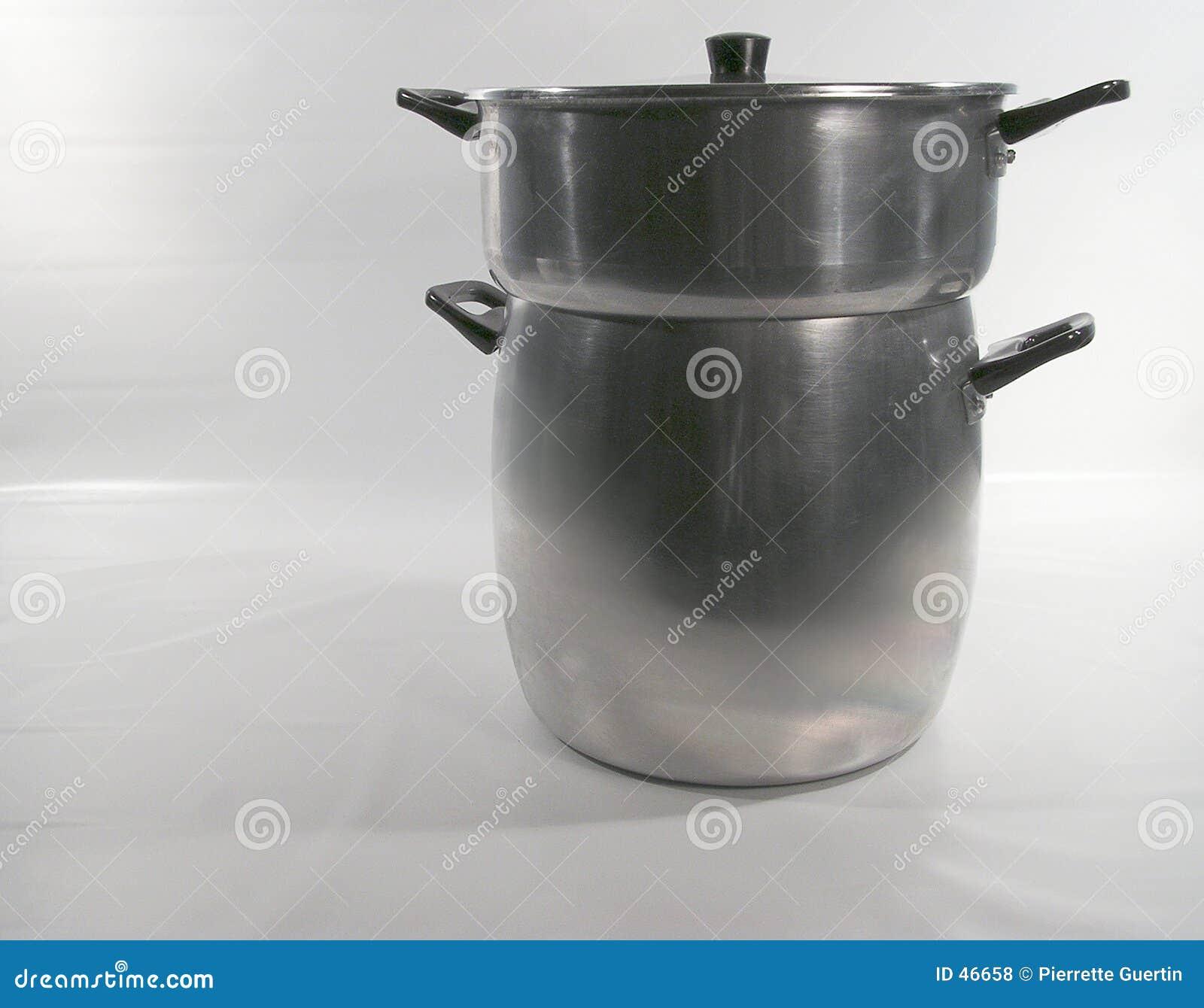 Steamer för couscousmaträttpanna