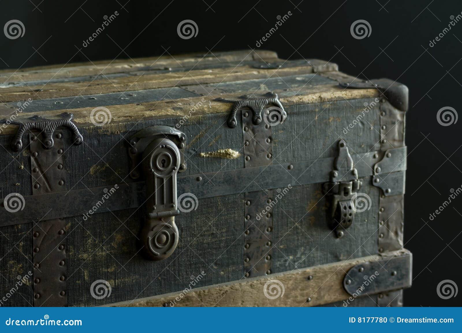 Antique Steamer Trunk Plans
