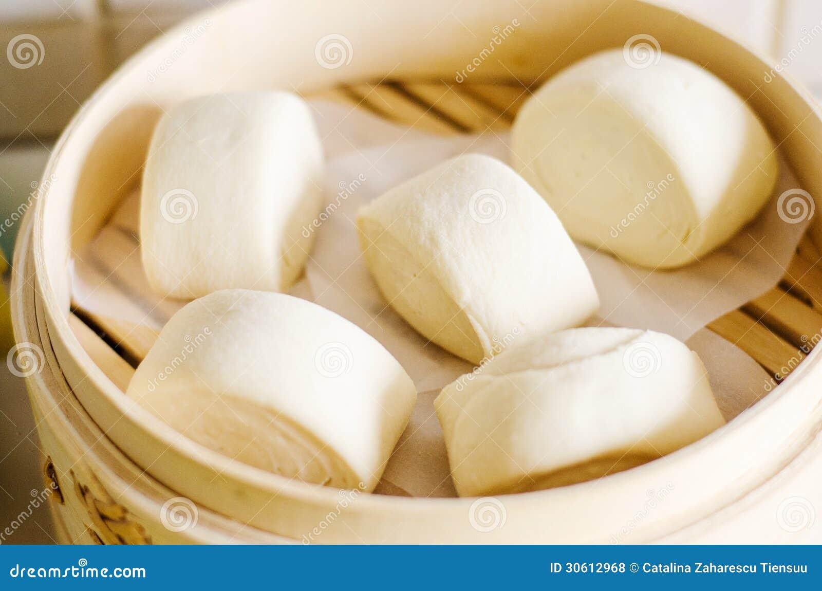how to make steam bun dough white
