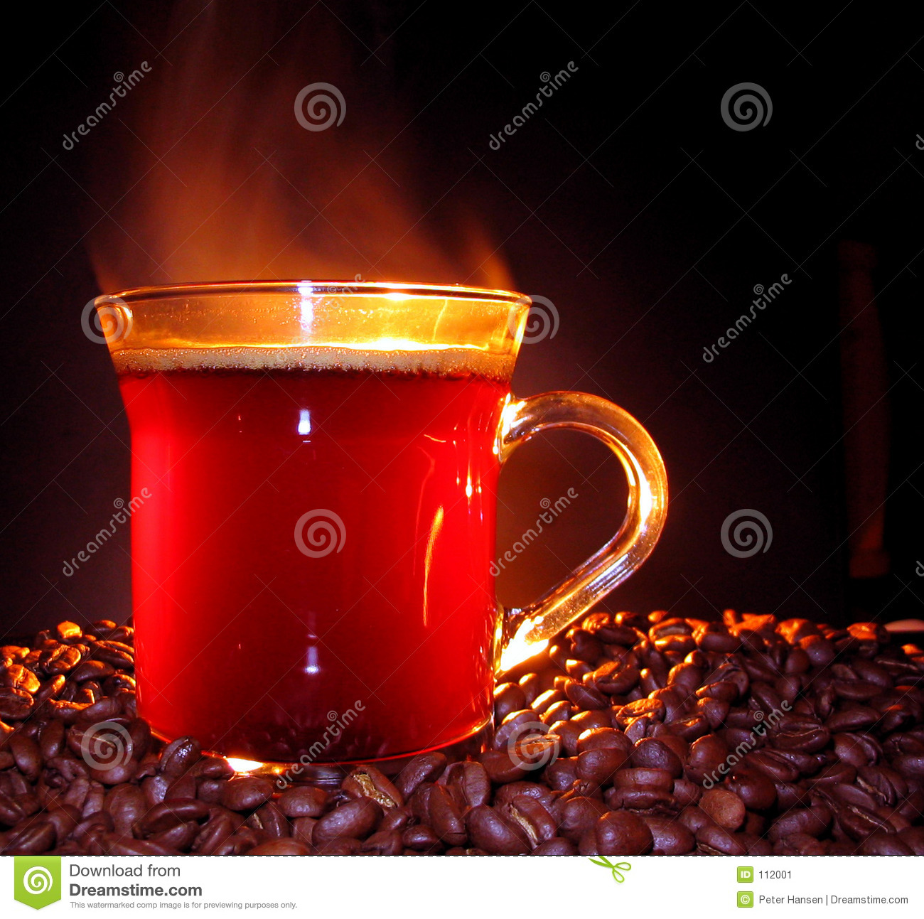 Steaming Coffee Stock Image. Image Of Drink, Steam, Java