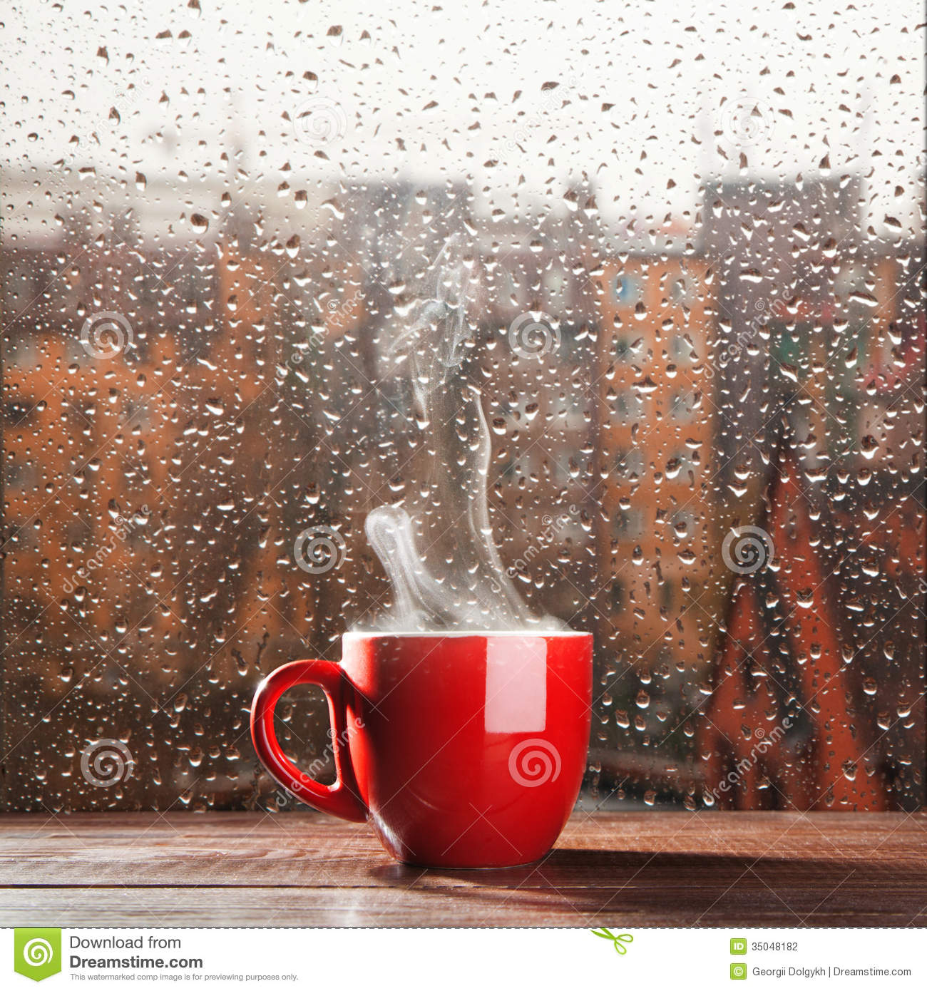 Steaming coffee cup stock photo. Image of brown, drink ...
