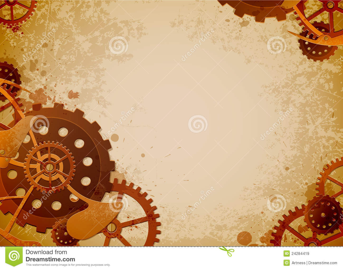 steampunk background stock vector illustration of spray 24284419