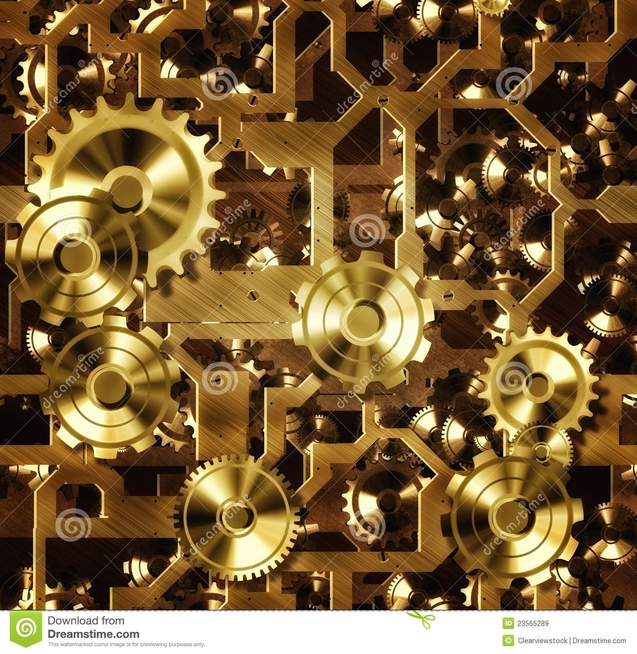 steampunk cogs and gears stock illustration illustration of