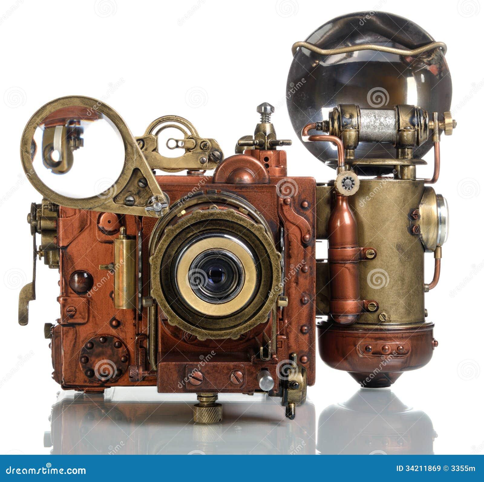 Steampunk della macchina fotografica