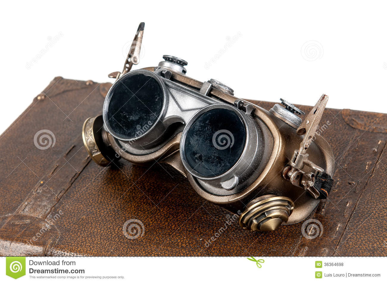 Steampunk Goggles Royalty Free Stock Photos Image 36364698