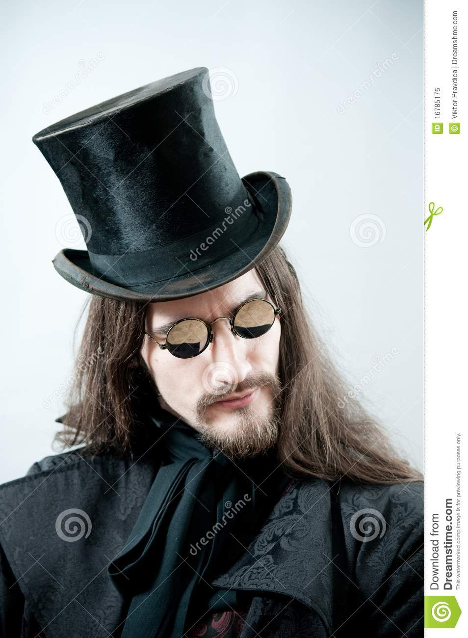 Steampunk portrait stock photo. Image of goggles, handsome ...