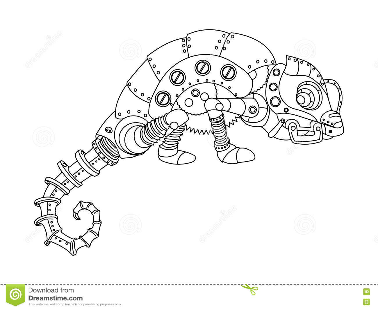 chameleon cartoons  illustrations  u0026 vector stock images