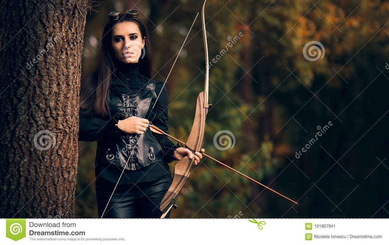 Arrow woman