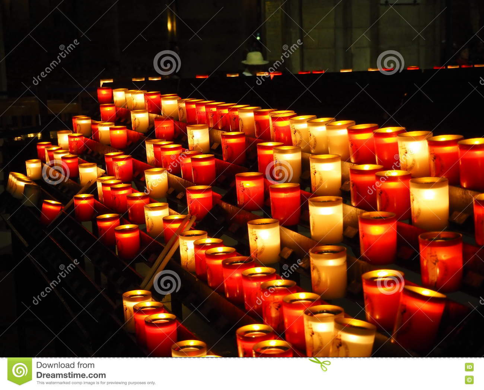 Stearinljus kyrka