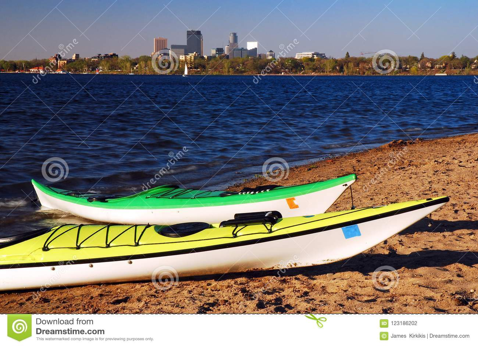 Stedelijke Kayaking