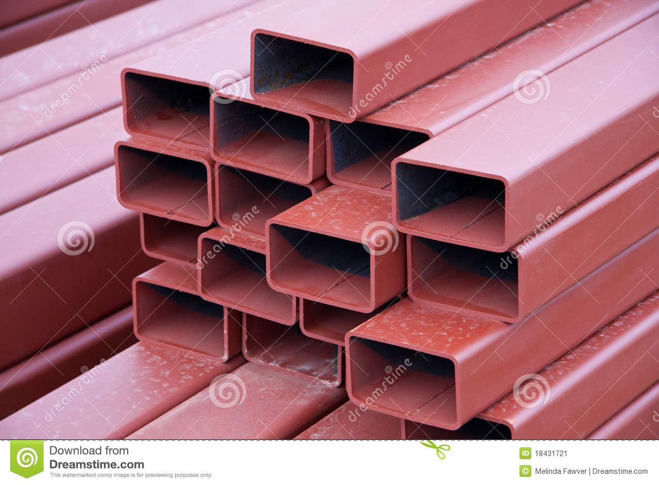 Steel beams stock image image 18431721 - Vigas de acero ...