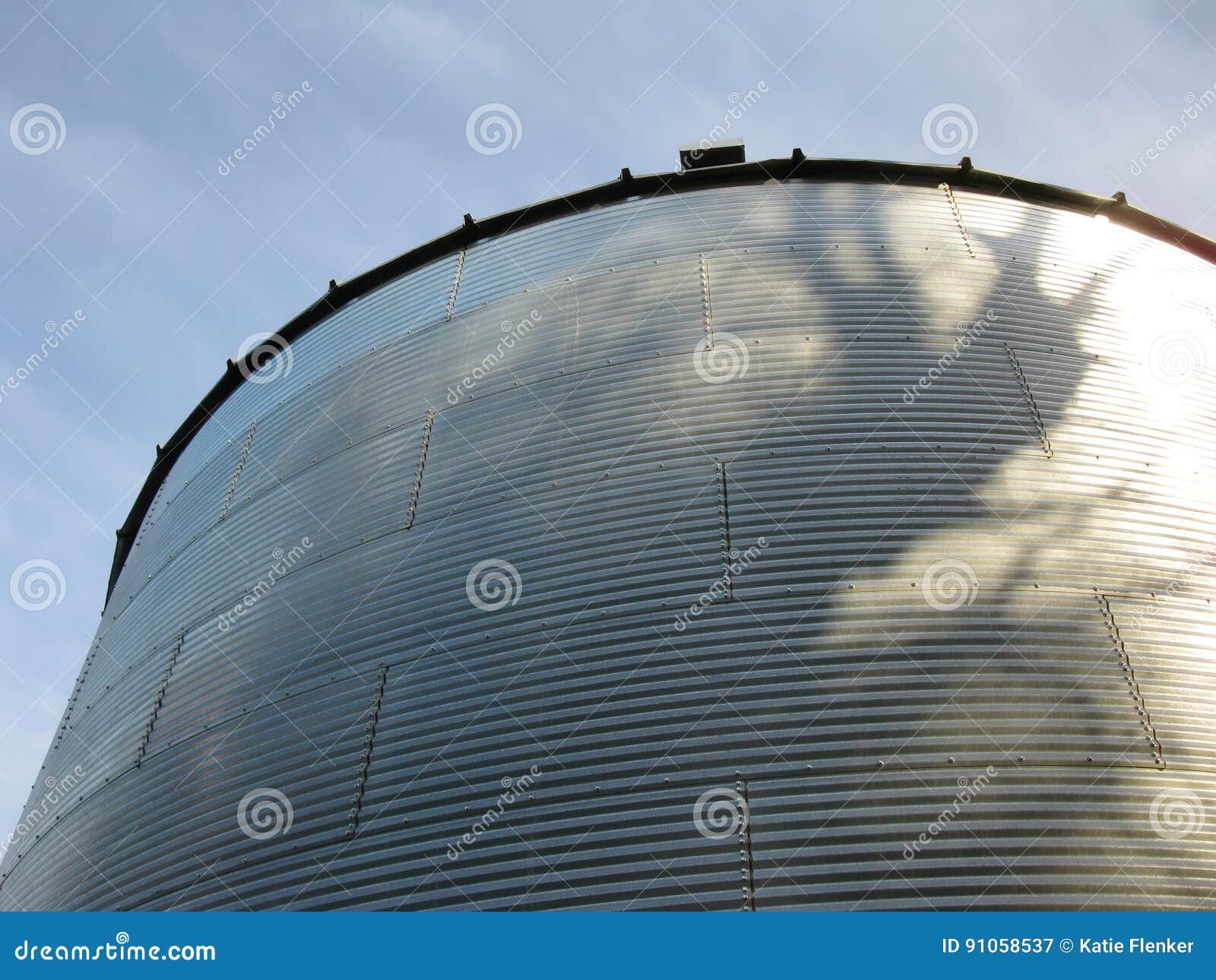 Steel bin