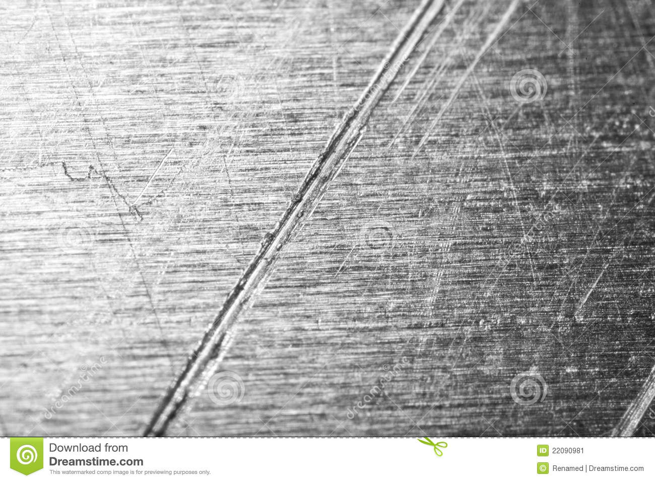 Steel With Deep Scratches Stock Image Image Of Gray