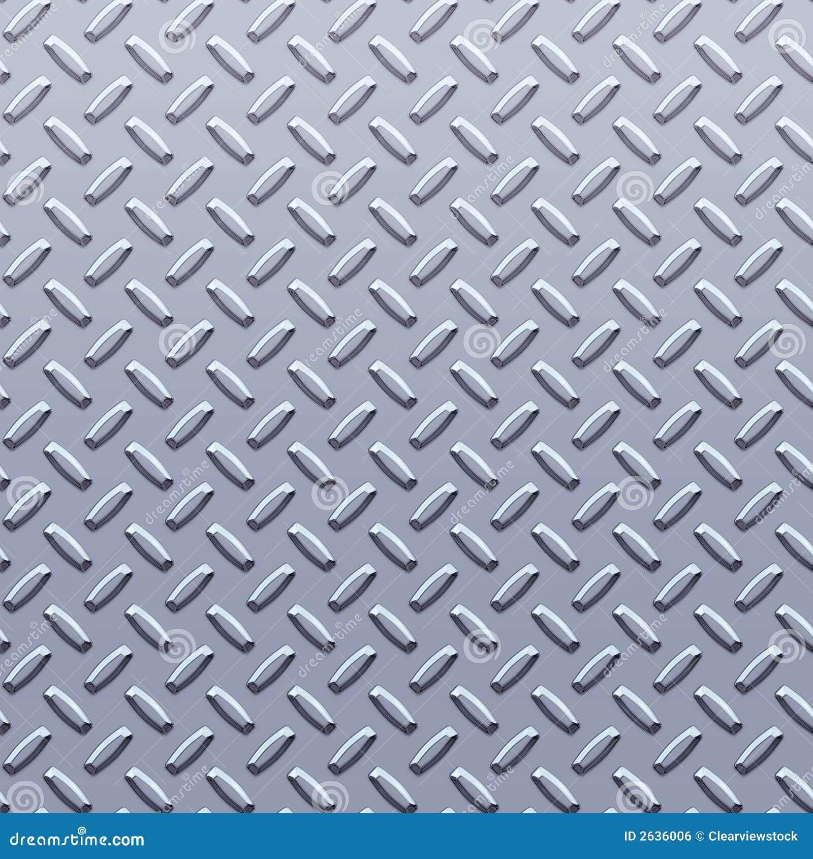Steel Diamond Plate Background Royalty Free Stock Image