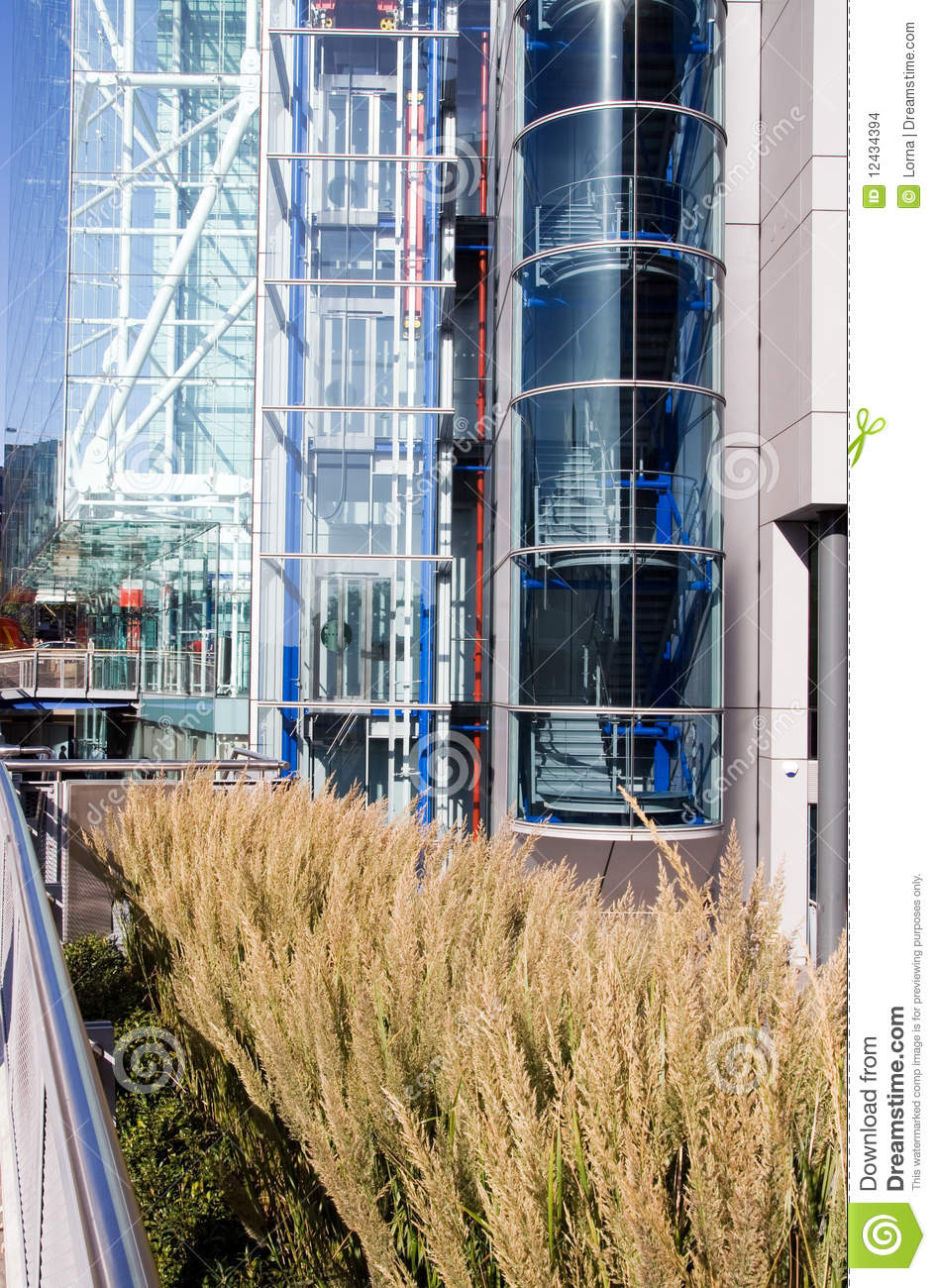 Steel Glass Architecture Building Stock Images Image