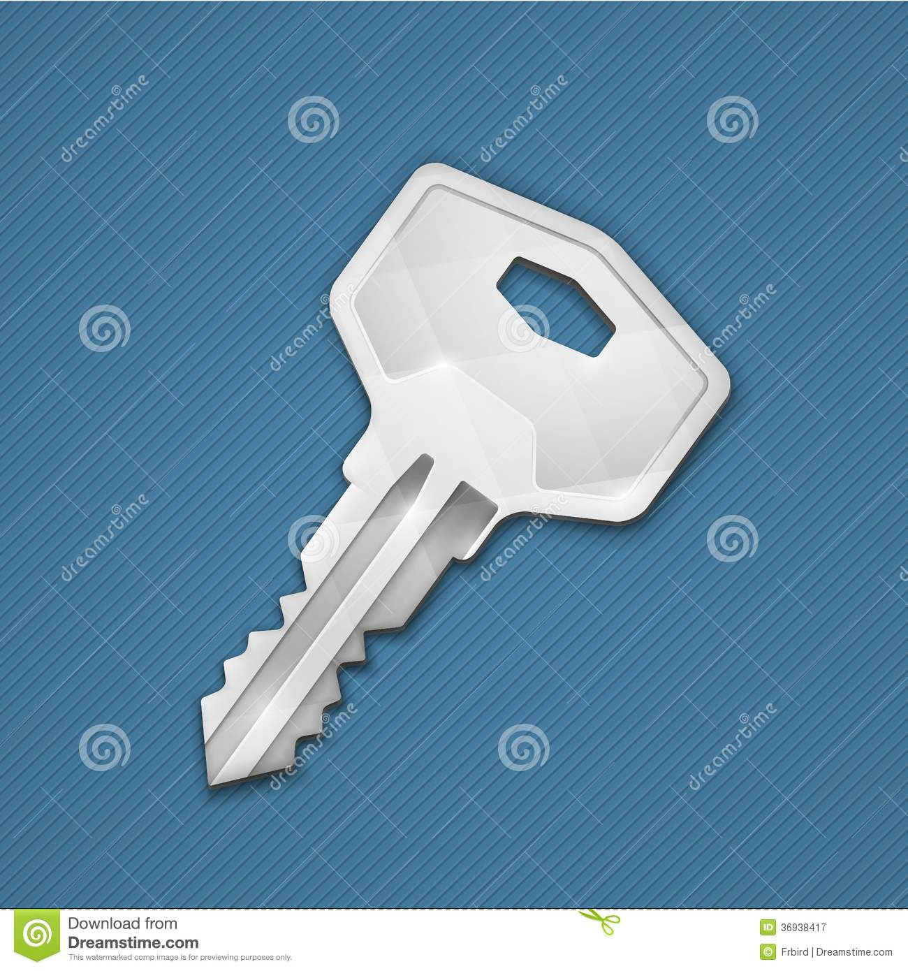 Steel Key Stock : Steel key royalty free stock photography image